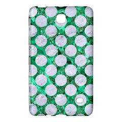 Circles2 White Marble & Green Marble Samsung Galaxy Tab 4 (7 ) Hardshell Case