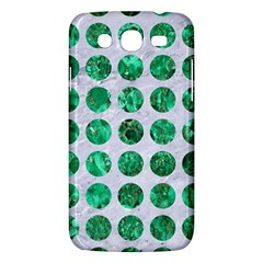 Circles1 White Marble & Green Marble (r) Samsung Galaxy Mega 5 8 I9152 Hardshell Case
