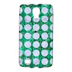 Circles1 White Marble & Green Marble Samsung Galaxy S4 Active (i9295) Hardshell Case