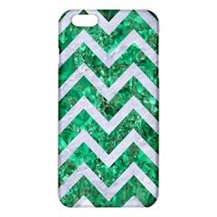 Chevron9 White Marble & Green Marble Iphone 6 Plus/6s Plus Tpu Case