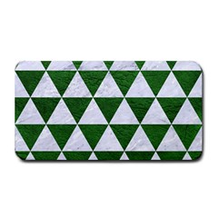 Triangle3 White Marble & Green Leather Medium Bar Mats by trendistuff