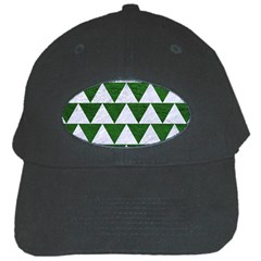 Triangle2 White Marble & Green Leather Black Cap