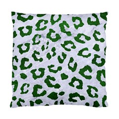 Skin5 White Marble & Green Leather Standard Cushion Case (one Side)