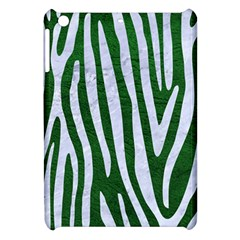 Skin4 White Marble & Green Leather (r) Apple Ipad Mini Hardshell Case