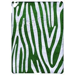 Skin4 White Marble & Green Leather (r) Apple Ipad Pro 12 9   Hardshell Case