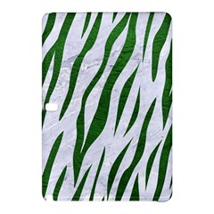 Skin3 White Marble & Green Leather (r) Samsung Galaxy Tab Pro 10 1 Hardshell Case