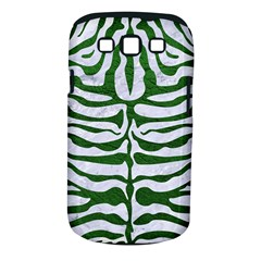 Skin2 White Marble & Green Leather (r) Samsung Galaxy S Iii Classic Hardshell Case (pc+silicone)