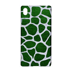 Skin1 White Marble & Green Leather (r) Sony