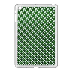 Scales2 White Marble & Green Leather Apple Ipad Mini Case (white)