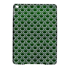 Scales2 White Marble & Green Leather Ipad Air 2 Hardshell Cases