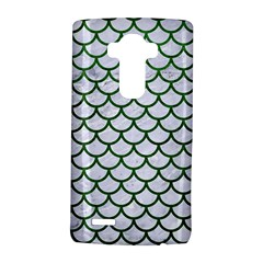 Scales1 White Marble & Green Leather (r) Lg