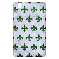 Royal1 White Marble & Green Leather Samsung Galaxy Tab Pro 8 4 Hardshell Case by trendistuff