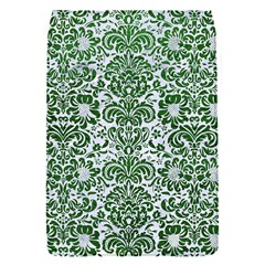 Damask2 White Marble & Green Leather (r) Flap Covers (s)