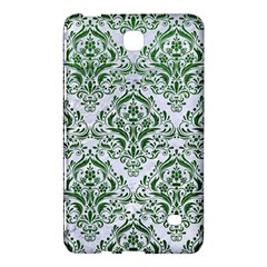 Damask1 White Marble & Green Leather (r) Samsung Galaxy Tab 4 (8 ) Hardshell Case  by trendistuff