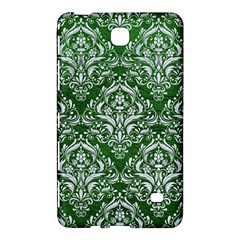 Damask1 White Marble & Green Leather Samsung Galaxy Tab 4 (7 ) Hardshell Case