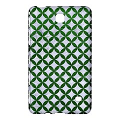 Circles3 White Marble & Green Leather (r) Samsung Galaxy Tab 4 (8 ) Hardshell Case