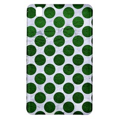 Circles2 White Marble & Green Leather (r) Samsung Galaxy Tab Pro 8 4 Hardshell Case