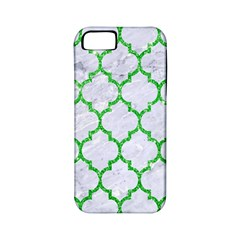 Tile1 (r) White Marble & Green Glitter Apple Iphone 5 Classic Hardshell Case (pc+silicone)