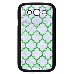 Tile1 (r) White Marble & Green Glitter Samsung Galaxy Grand Duos I9082 Case (black)