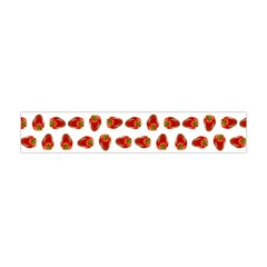 Red Peppers Pattern Flano Scarf (mini) by SuperPatterns