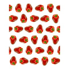 Red Peppers Pattern Shower Curtain 60  X 72  (medium)  by SuperPatterns