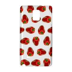 Red Peppers Pattern Samsung Galaxy Note 4 Hardshell Case
