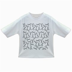 Scissors Pattern Infant/toddler T Shirts
