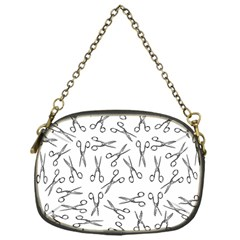 Scissors Pattern Chain Purses (one Side)