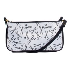 Scissors Pattern Shoulder Clutch Bags