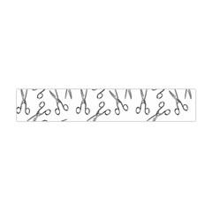 Scissors Pattern Flano Scarf (mini)