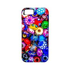 Colorful Beads Apple Iphone 5 Classic Hardshell Case (pc+silicone)
