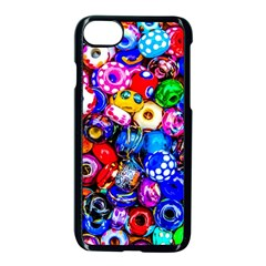 Colorful Beads Apple Iphone 7 Seamless Case (black) by FunnyCow
