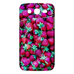 Pile Of Red Strawberries Samsung Galaxy Mega 5 8 I9152 Hardshell Case