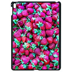 Pile Of Red Strawberries Apple Ipad Pro 9 7   Black Seamless Case by FunnyCow