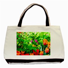 Bleeding Heart Flowers In Spring Basic Tote Bag