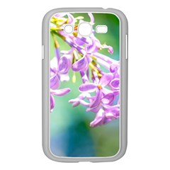Beautiful Pink Lilac Flowers Samsung Galaxy Grand Duos I9082 Case (white)