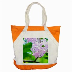 Elegant Pink Lilacs In Spring Accent Tote Bag by FunnyCow