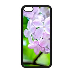 Elegant Pink Lilacs In Spring Apple Iphone 5c Seamless Case (black)