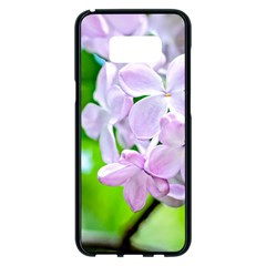 Elegant Pink Lilacs In Spring Samsung Galaxy S8 Plus Black Seamless Case by FunnyCow