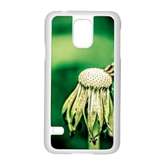 Dandelion Flower Green Chief Samsung Galaxy S5 Case (white) by FunnyCow
