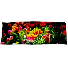 Colorful Tulips On A Sunny Day Body Pillow Case Dakimakura (two Sides)