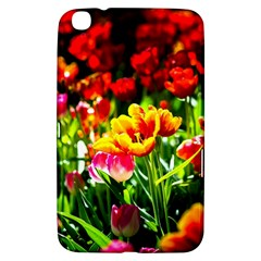 Colorful Tulips On A Sunny Day Samsung Galaxy Tab 3 (8 ) T3100 Hardshell Case