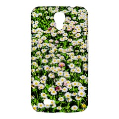 Green Field Of White Daisy Flowers Samsung Galaxy Mega 6 3  I9200 Hardshell Case by FunnyCow