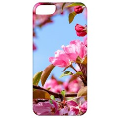 Crab Apple Blossoms Apple Iphone 5 Classic Hardshell Case by FunnyCow