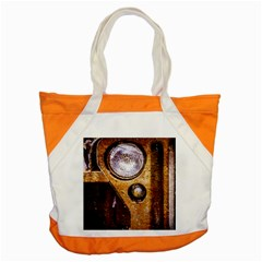 Vintage Off Roader Car Headlight Accent Tote Bag