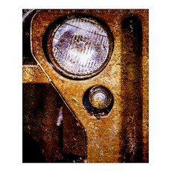 Vintage Off Roader Car Headlight Shower Curtain 60  X 72  (medium)  by FunnyCow
