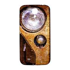 Vintage Off Roader Car Headlight Samsung Galaxy S4 I9500/i9505  Hardshell Back Case by FunnyCow