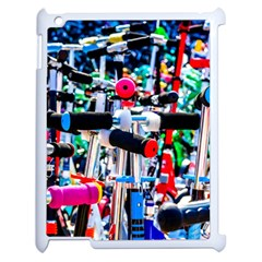Time To Choose A Scooter Apple Ipad 2 Case (white) by FunnyCow