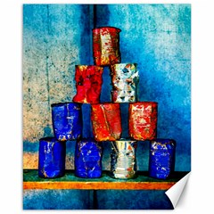 Soup Cans   After The Lunch Canvas 16  X 20