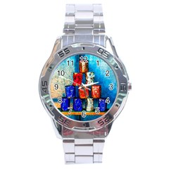 Soup Cans   After The Lunch Stainless Steel Analogue Watch